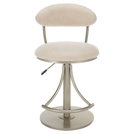 Venus Adjustable Swivel Barstool in Fawn