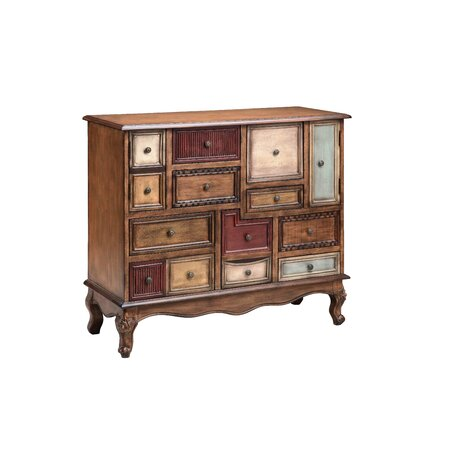 Shelby Rustic 10 Drawer Chest