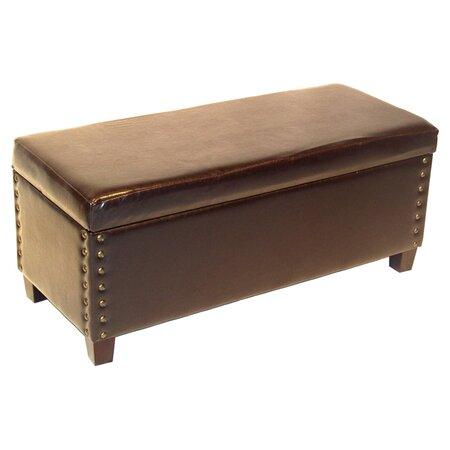 Sanderson Storage Bench in Espresso