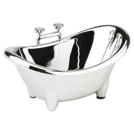 Bath Tub Ring Holder in Chrome