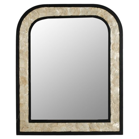 Gregory Mirror in Dark Brown
