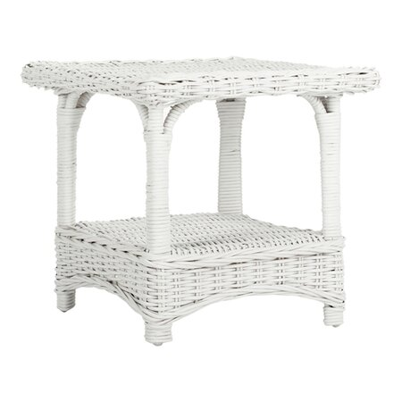 Bowen End Table in White