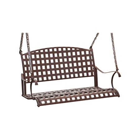 Santa Fe Porch Swing in Antique Brown