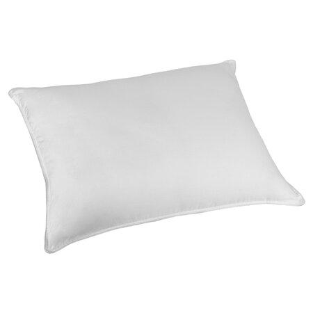Fiber Surround Memory Foam Pillow in White