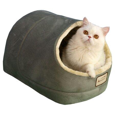 Cat Bed in Sage & Beige