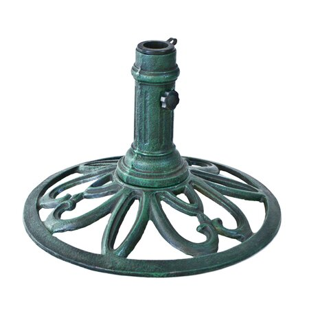 Umbrella Base in Verdegris