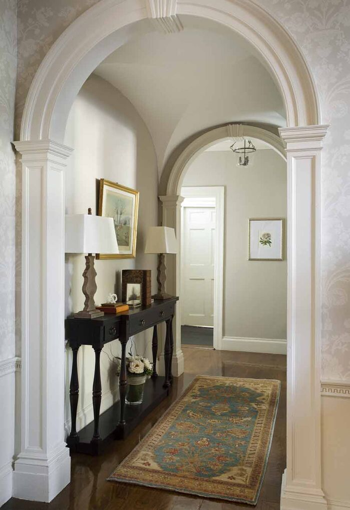 Traditional Entryway and Hallway photo by North Fork Design Co