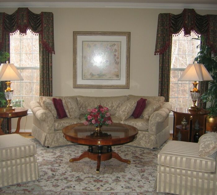 Traditional Living Room photo by Custom Home Interior Creations, LLC