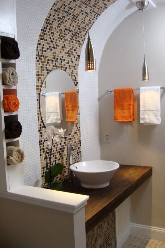 Contemporary Bathroom photo by Custom Home Interior Creations, LLC
