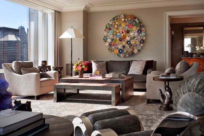 Eclectic Living Room photo by SLC Interiors
