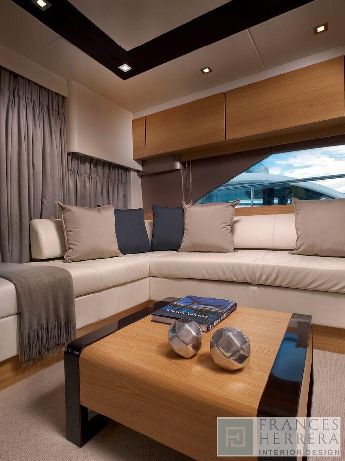 Coastal Living Room photo by Frances Herrera Interior Design