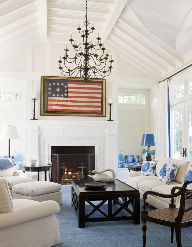 Coastal Living Room photo by SLC Interiors