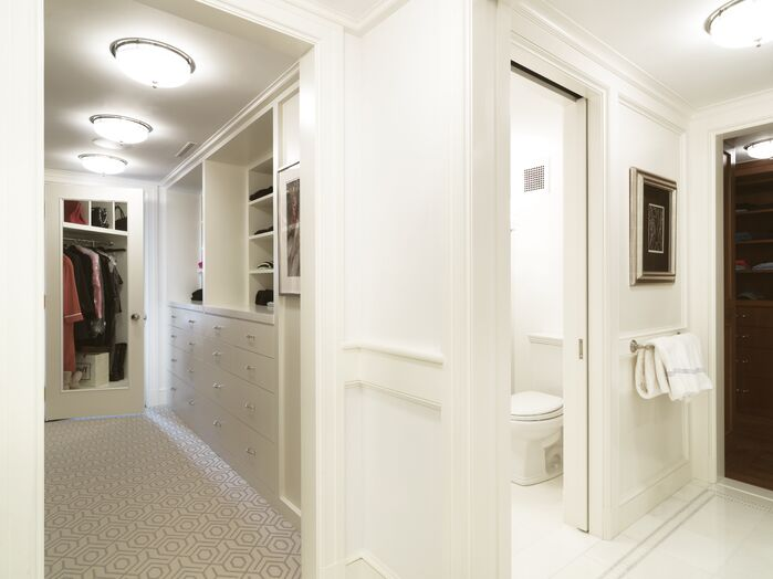 Traditional Closet photo by SLC Interiors