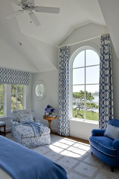 Coastal Bedroom photo by SLC Interiors