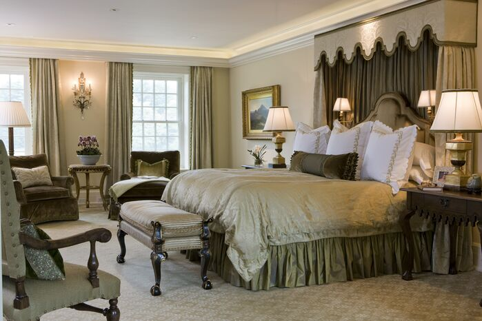 Traditional Bedroom photo by SLC Interiors