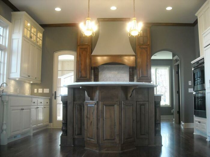 Traditional Kitchen photo by Marceau Interiors