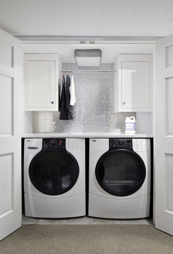 Contemporary Laundry/Mud Room photo by Clean Design Partners