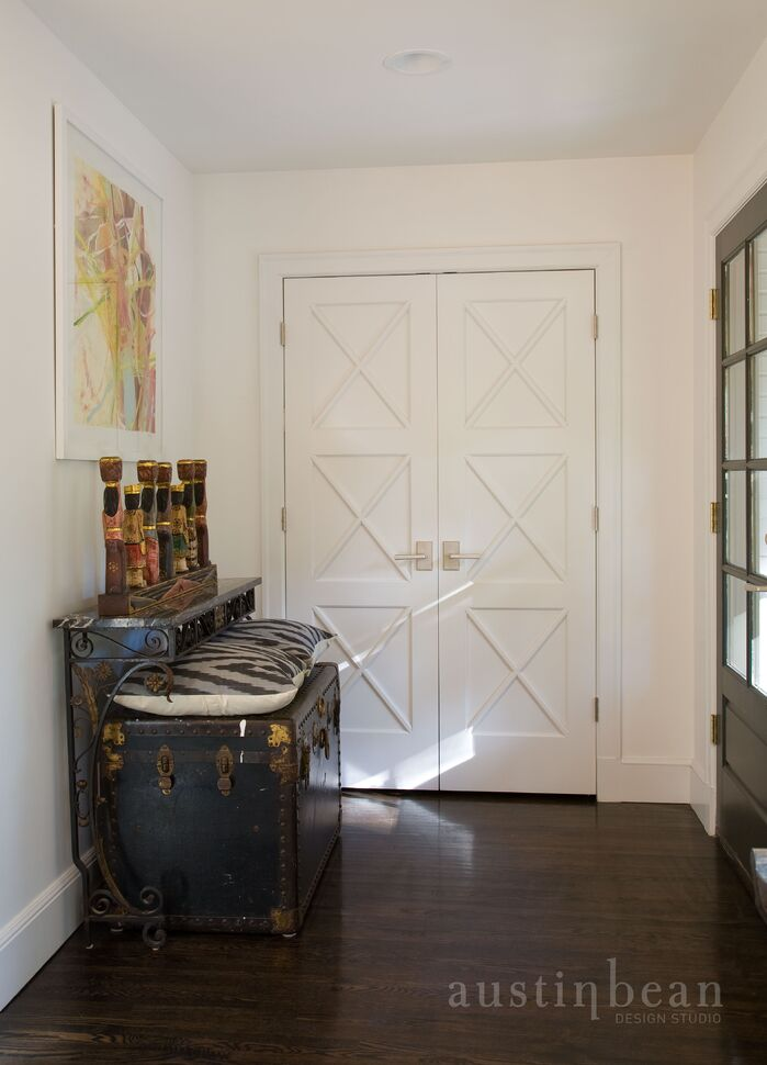 Contemporary Entryway and Hallway photo by Austin Bean Design Studio