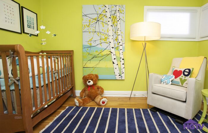 Contemporary Nursery photo by HGTV