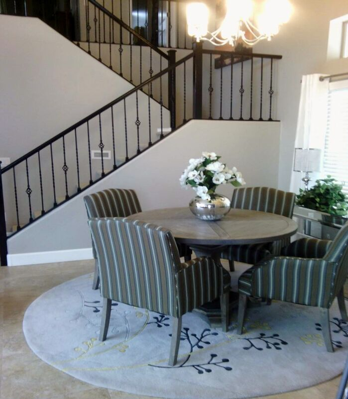 Traditional Dining Room photo by Center Stage Interiors