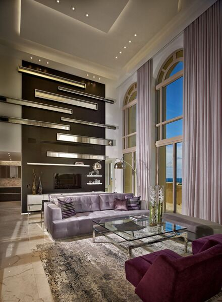 Miami Interior Design Living Room