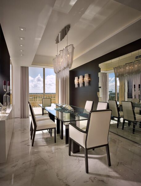 Modern Dining Room photo by Pepe Calderin Design