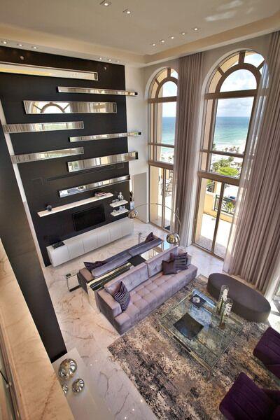 Modern Living Room photo by Pepe Calderin Design