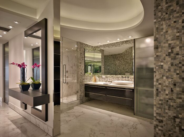 Modern Bathroom photo by Pepe Calderin Design