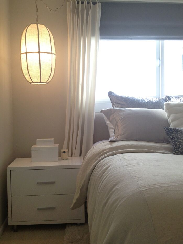 Modern Bedroom photo by hudson home