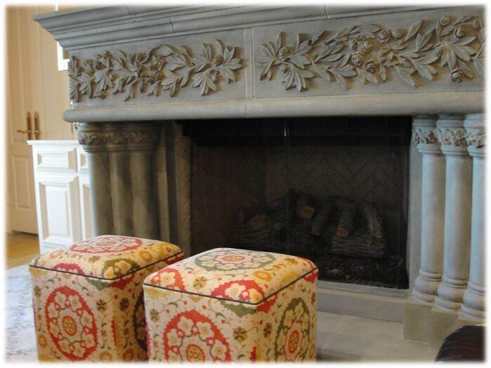 Rustic Living Room photo by DecRenew Interiors