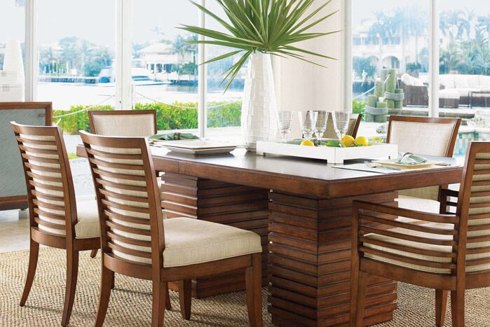 Coastal Dining Room photo by Wayfair