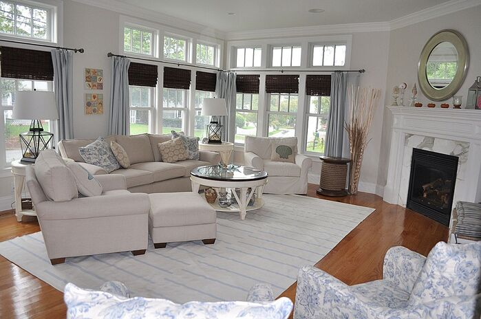 Coastal Living Room photo by Kristy Kay