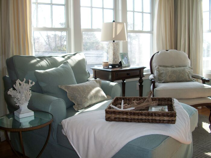 Coastal Bedroom photo by Kristy Kay