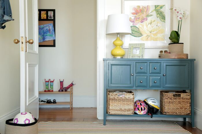 Contemporary Entryway and Hallway photo by Wayfair