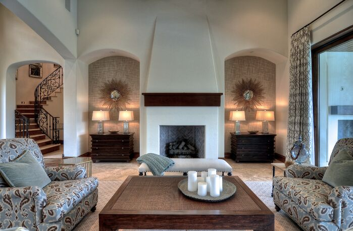Contemporary Living Room photo by Kathleen DiPaolo Designs
