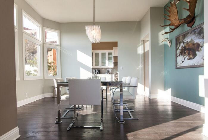 Contemporary Dining Room photo by Susan Jay Design