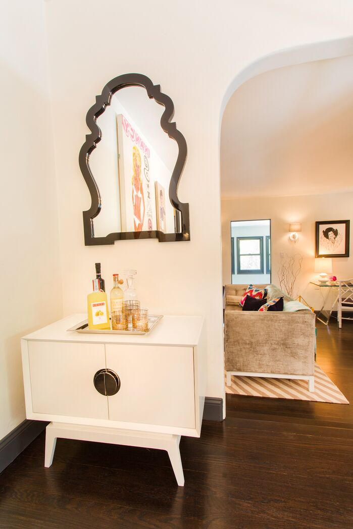 Glam Entryway and Hallway photo by Francesca Cavallin Mead