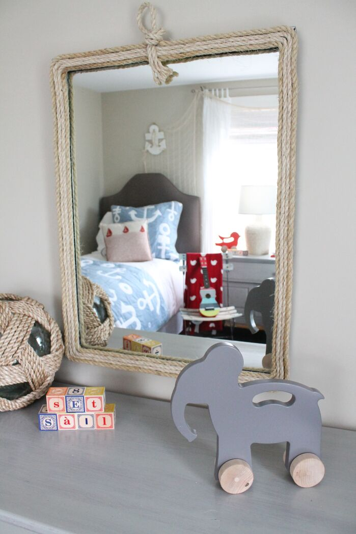 Eclectic Nursery photo by Kristy Kay