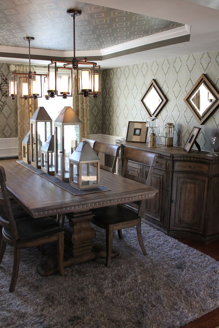Traditional Dining Room photo by Interiors by Paul Chaisson
