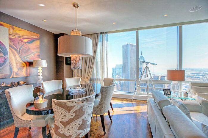 Eclectic Dining Room photo by Debora Lyn Interior Design