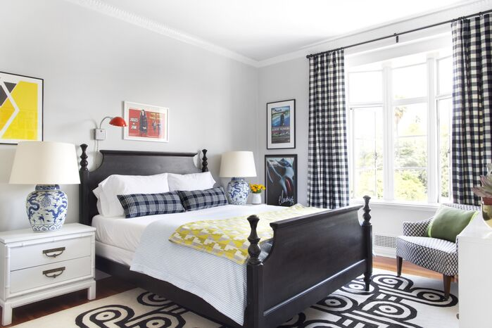 Eclectic Bedroom photo by Burnham Design
