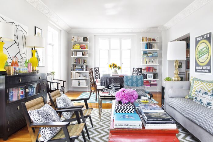 Eclectic Living Room photo by Burnham Design