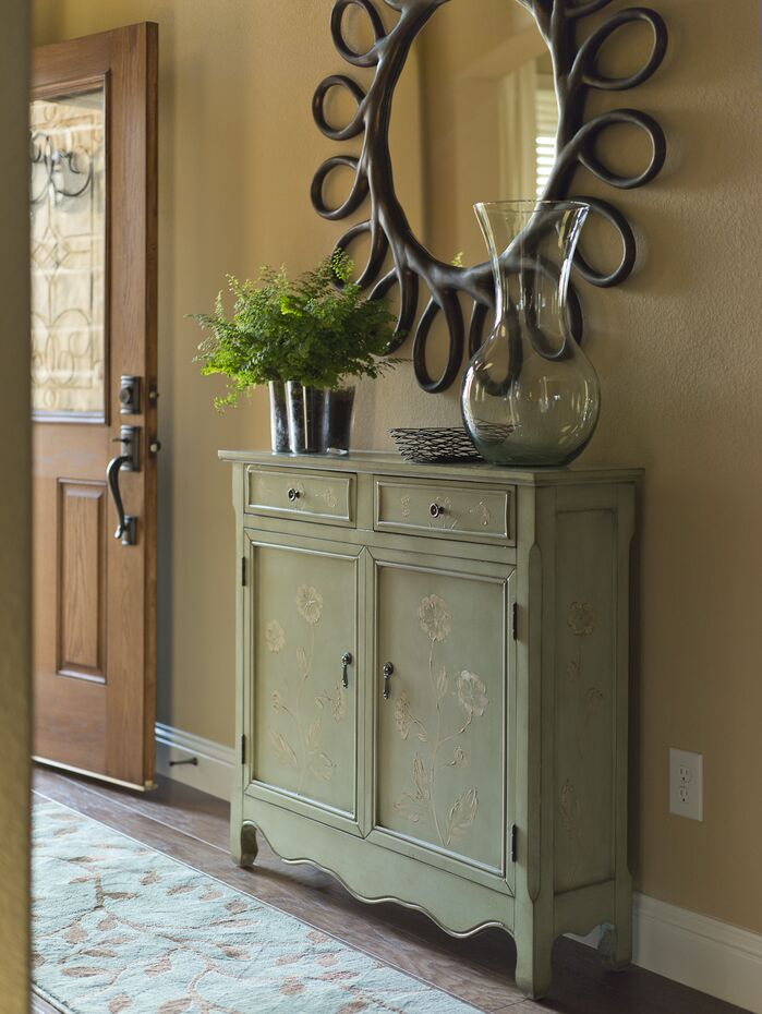 Traditional Entryway and Hallway photo by Wayfair