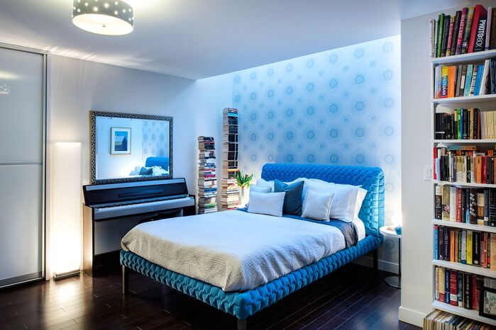 Eclectic Bedroom photo by Tahar Decor