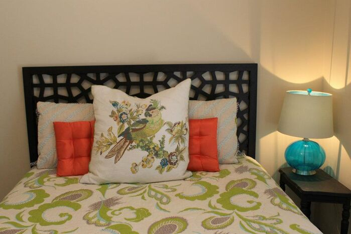 Eclectic Bedroom photo by Strickland Interiors
