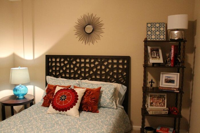 Contemporary Bedroom photo by Strickland Interiors