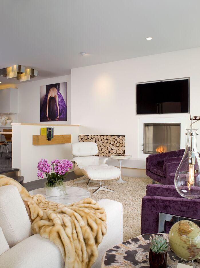 Contemporary Living Room photo by Tracy Murdock Interior Design