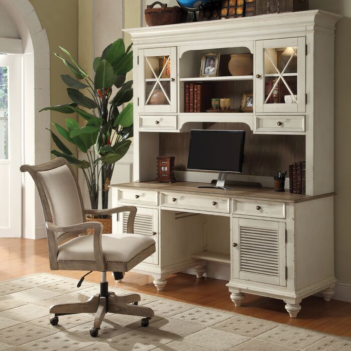 Cottage/Country Home Office photo by Wayfair