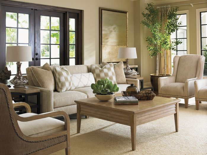 Rustic Living Room photo by Wayfair
