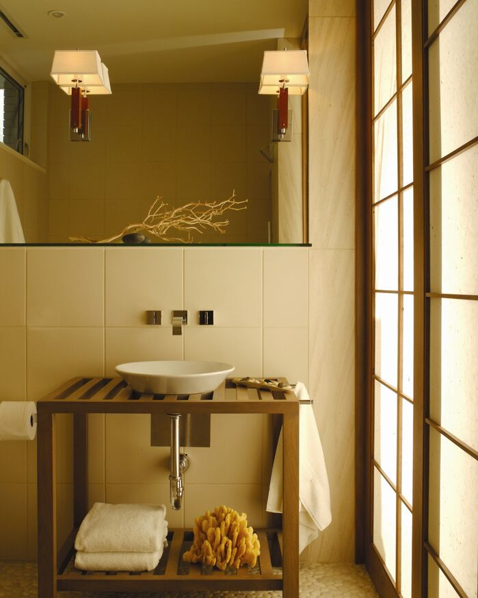 Contemporary Bathroom photo by Chancey Design
